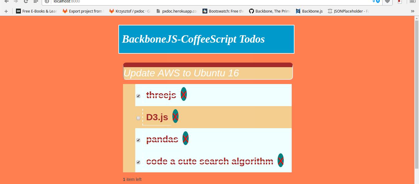 Let's Build A Todo App With BackboneJS And CoffeeScript
